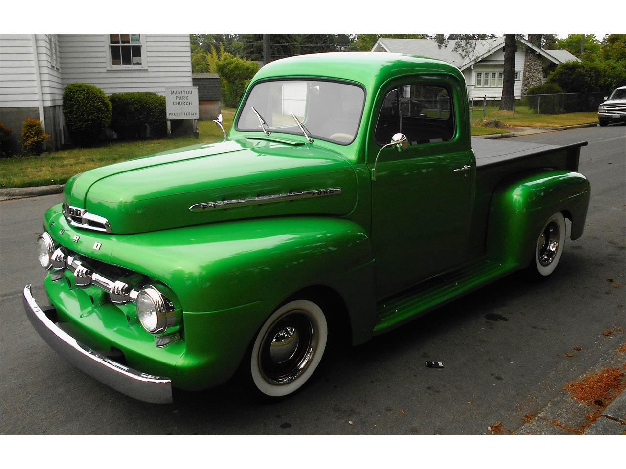 Large Picture of Classic '51 Ford F1 located in Tacoma Washington Offered by Austin's Pro Max - NPM4