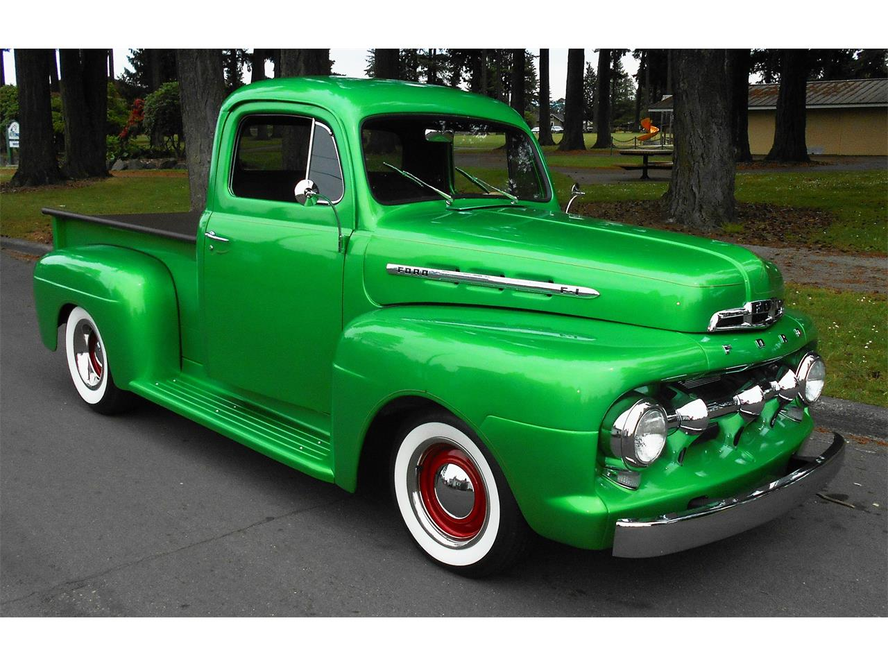 Large Picture of 1951 Ford F1 - NPM4