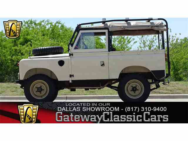 Picture of Classic 1961 Land Rover Series IIA - $27,595.00 Offered by  - NLAH