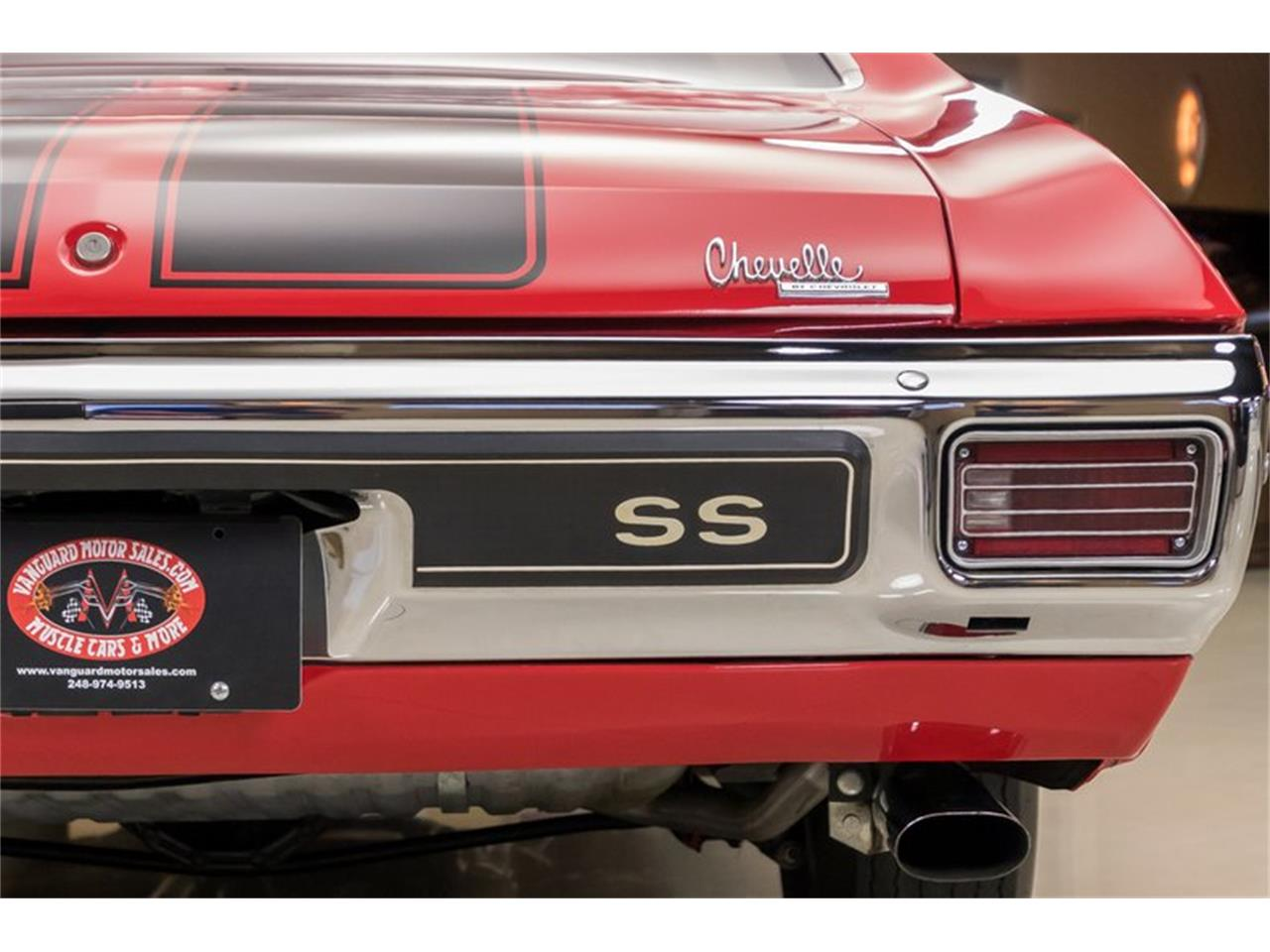 Large Picture of Classic '70 Chevrolet Chevelle located in Plymouth Michigan - $69,900.00 Offered by Vanguard Motor Sales - NQ35
