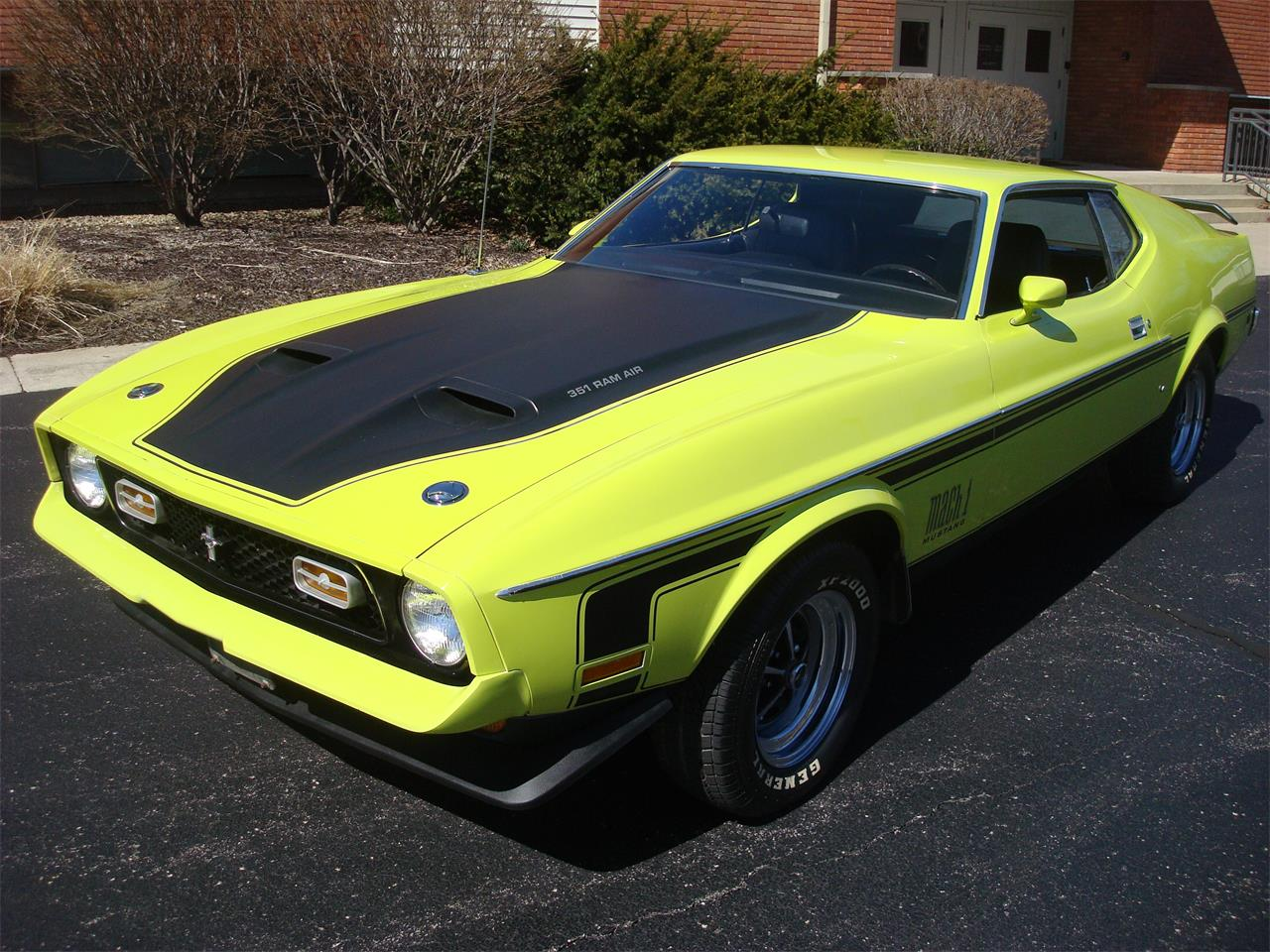 Large Picture of 1972 Mustang located in Illinois Offered by Naperville Auto Haus - NQ5T