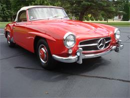 Picture of Classic '58 190SL located in naperville Illinois - $170,000.00 Offered by Naperville Auto Haus - NQ5X