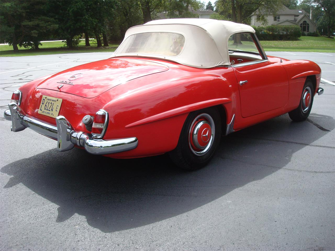 Large Picture of '58 190SL located in Illinois Offered by Naperville Auto Haus - NQ5X