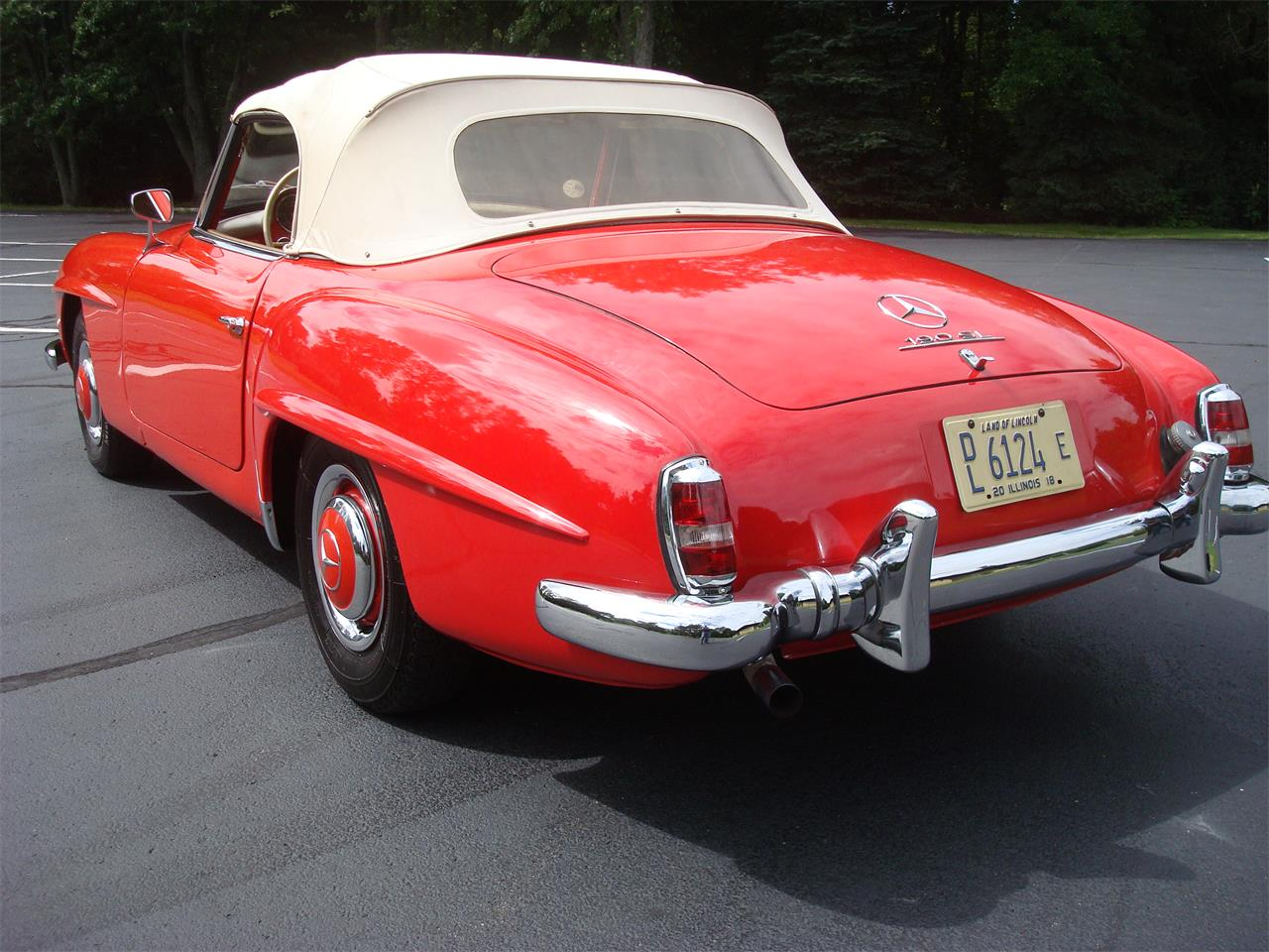 Large Picture of Classic '58 190SL located in Illinois - $170,000.00 - NQ5X