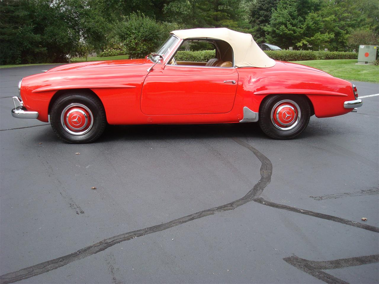 Large Picture of Classic '58 190SL Offered by Naperville Auto Haus - NQ5X