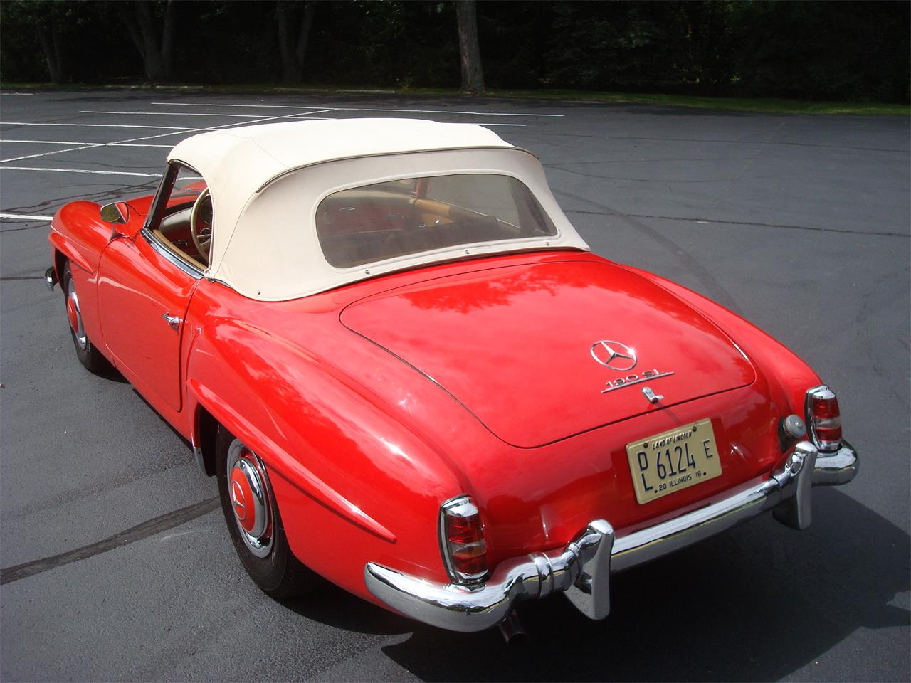 Large Picture of Classic 1958 Mercedes-Benz 190SL - $170,000.00 Offered by Naperville Auto Haus - NQ5X
