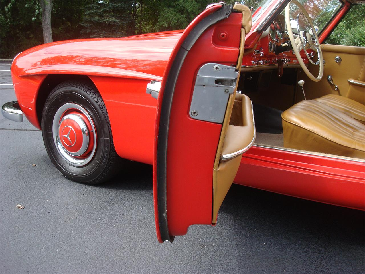 Large Picture of Classic 1958 Mercedes-Benz 190SL located in Illinois - NQ5X