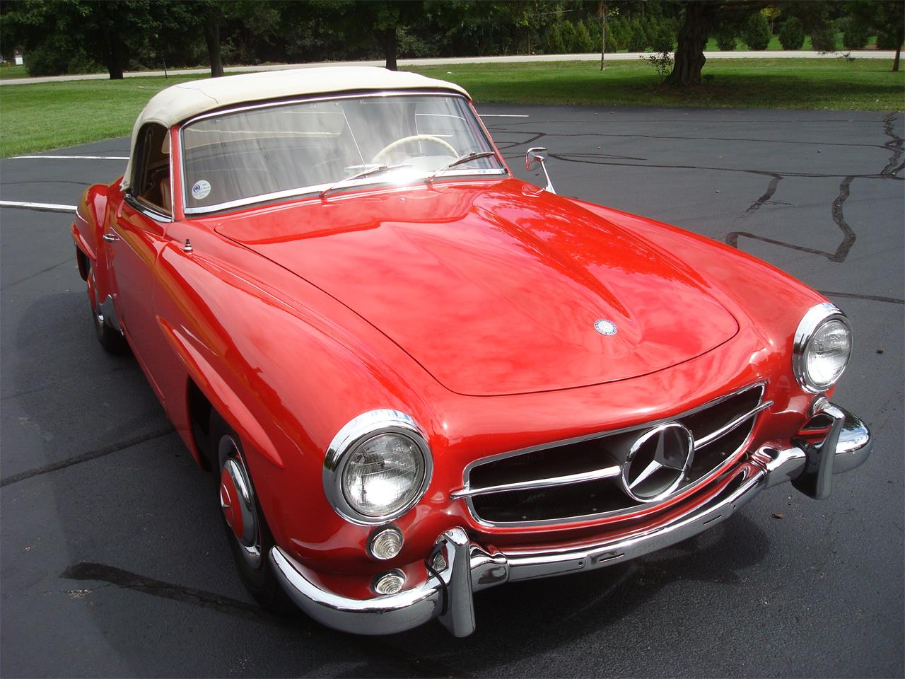 Large Picture of Classic 1958 Mercedes-Benz 190SL located in Illinois Offered by Naperville Auto Haus - NQ5X