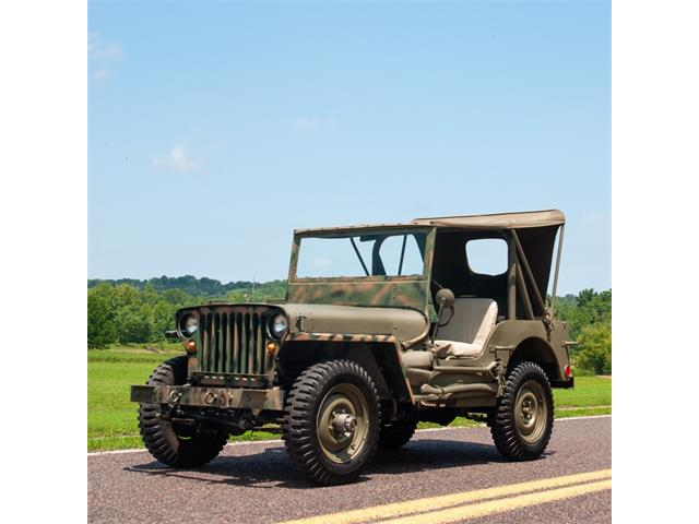 Picture of Classic '48 Jeep Military - $17,900.00 - NQ81