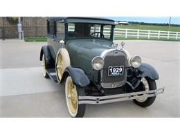 Picture of '29 Model A located in Colcord Oklahoma Offered by Yesterday's Classic Cars  - NQF2