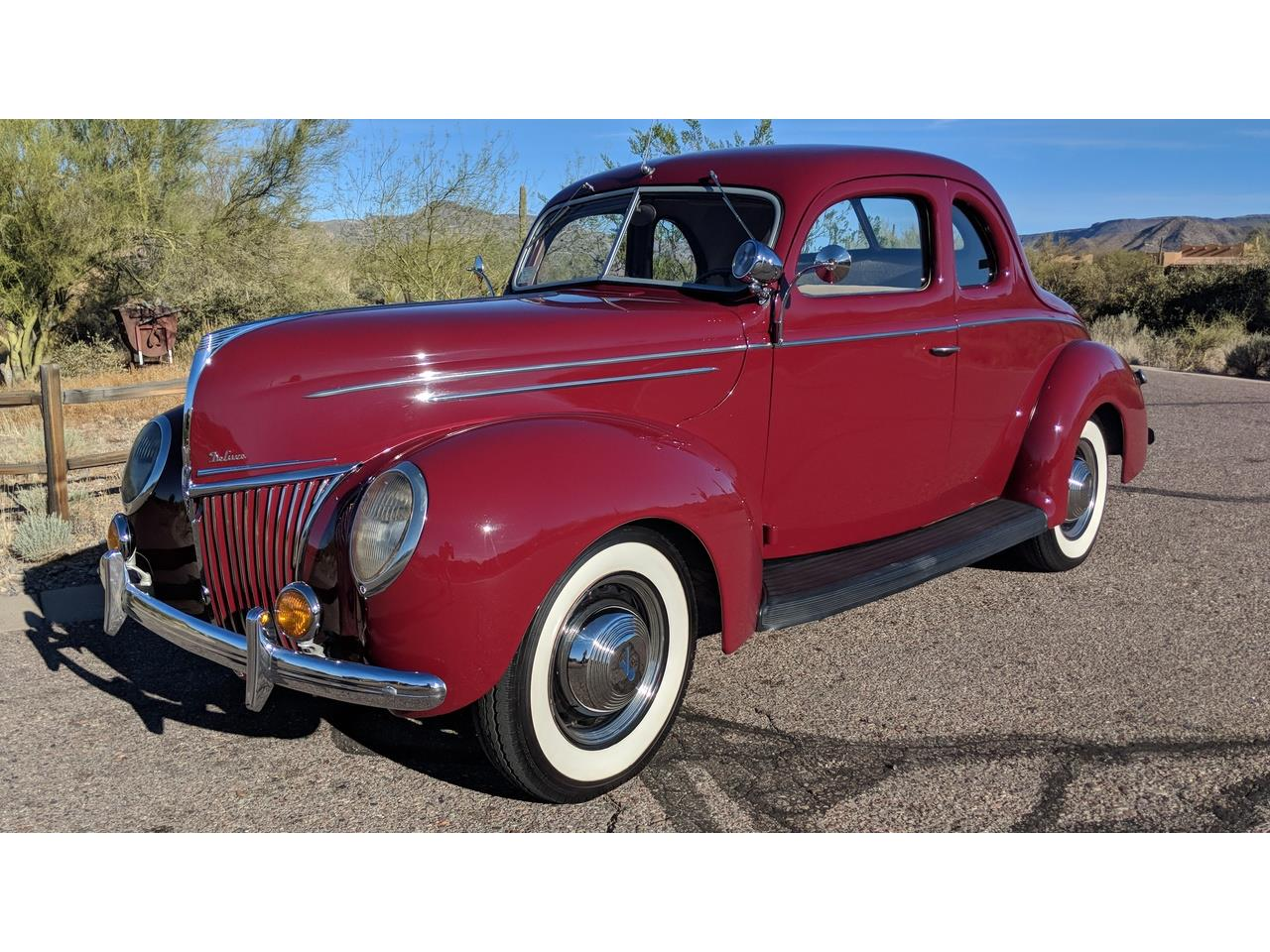 Large Picture of 1939 Ford Deluxe located in Cave Creek Arizona - $49,500.00 Offered by a Private Seller - NQG9