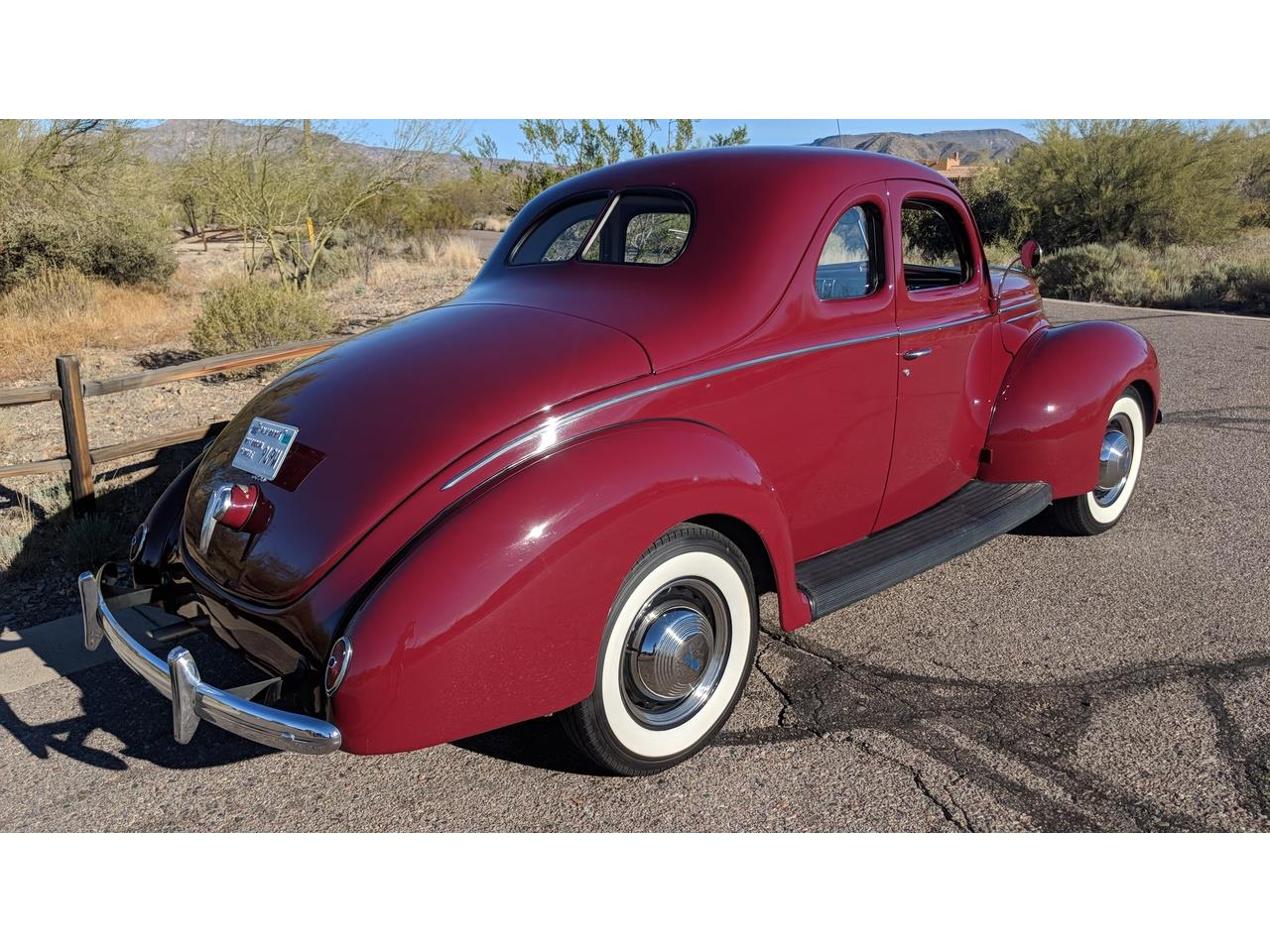 Large Picture of Classic 1939 Ford Deluxe located in Cave Creek Arizona - $49,500.00 - NQG9