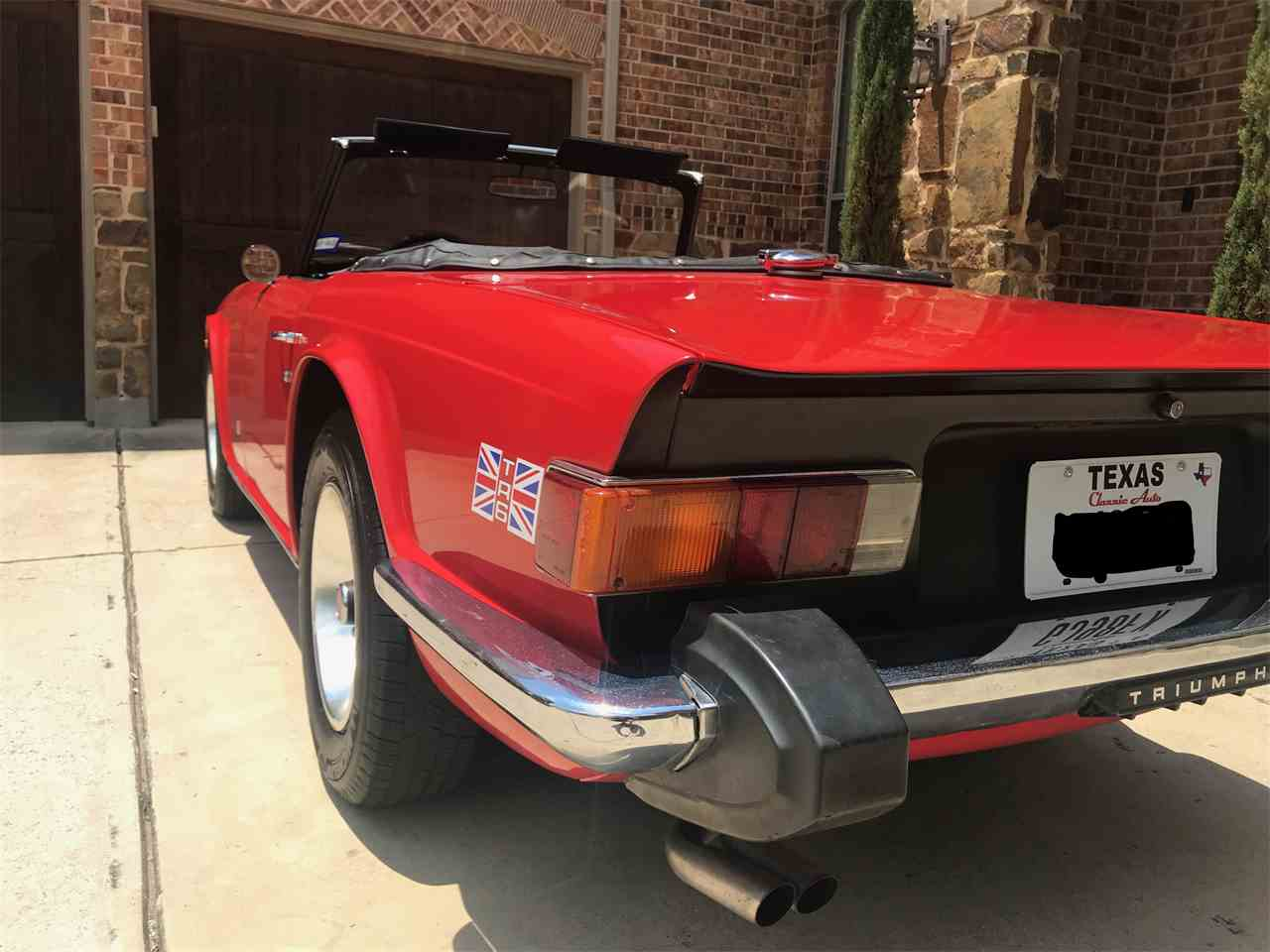 Large Picture of '75 TR6 - NQGE