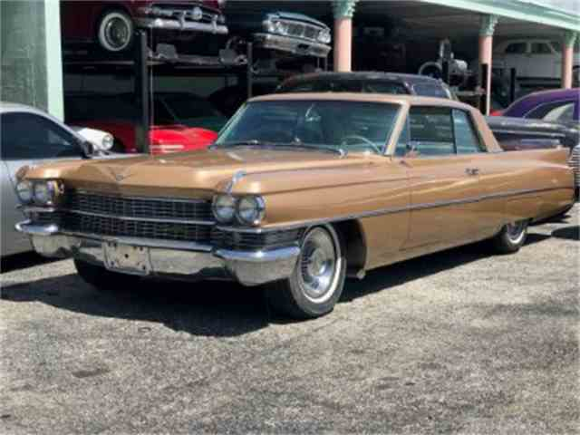1963 Cadillac DeVille for Sale on ClicCars.com