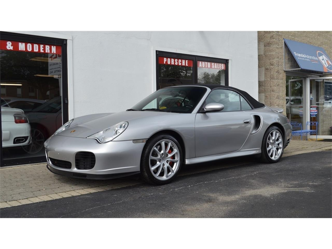 Large Picture of '04 Porsche 996 Turbo Cabriolet located in West Chester Pennsylvania - NQV0