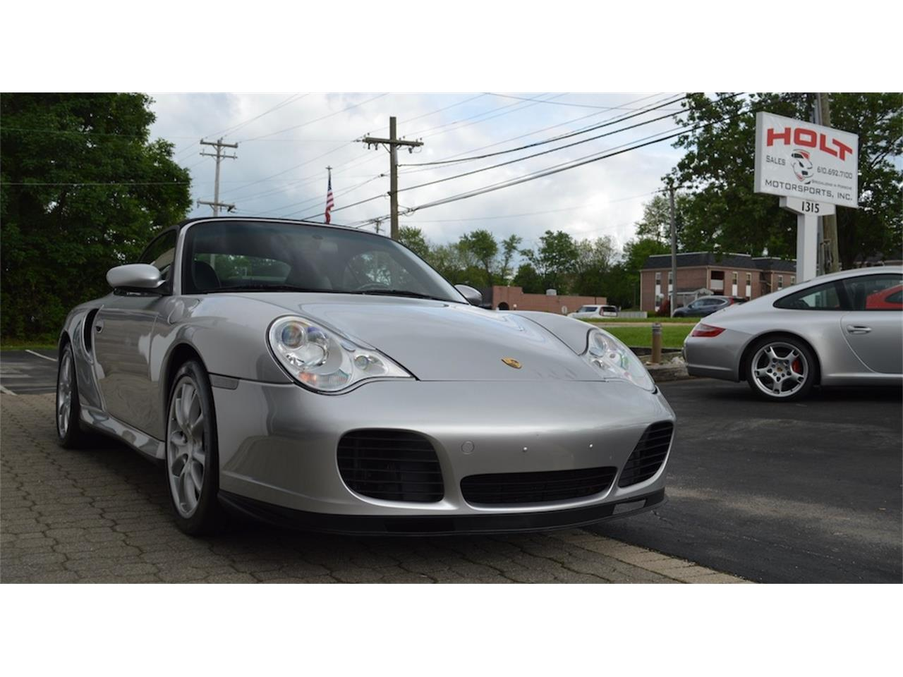 Large Picture of '04 Porsche 996 Turbo Cabriolet Offered by Holt Motorsports - NQV0