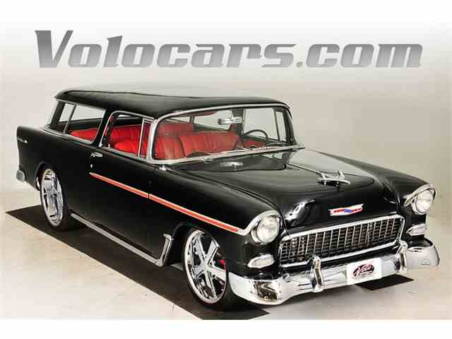 Picture of '55 Chevrolet Nomad located in Volo Illinois - $124,998.00 Offered by  - NLEH