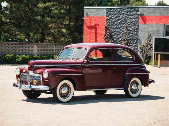 1942 Ford Super Deluxe 2 Door Coupe