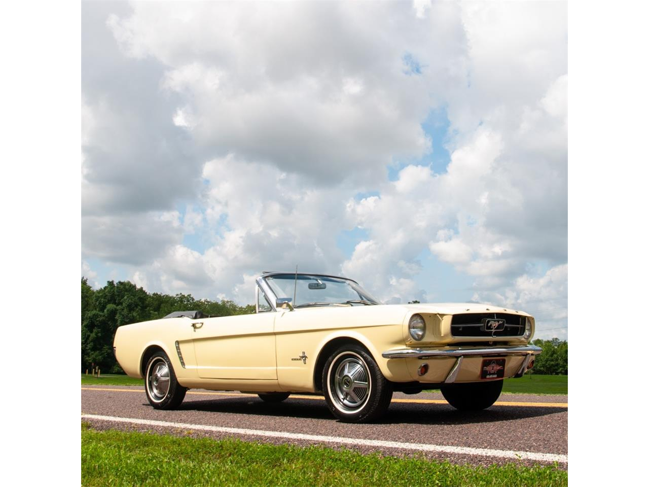 Large Picture of '65 Mustang - NRAY