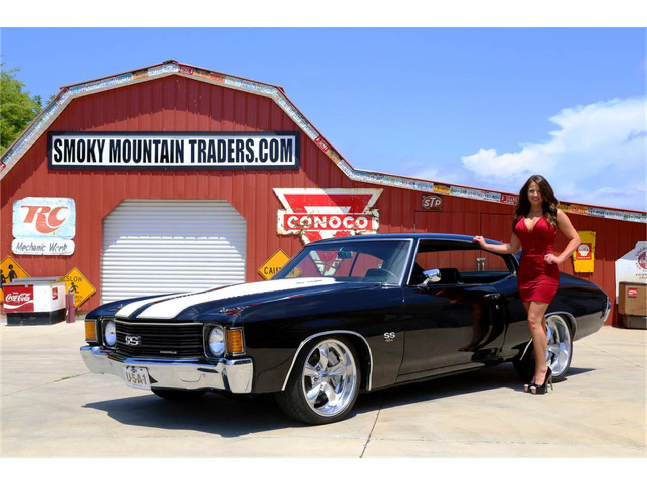 Large Picture of '72 Chevrolet Chevelle located in Tennessee - NRB6