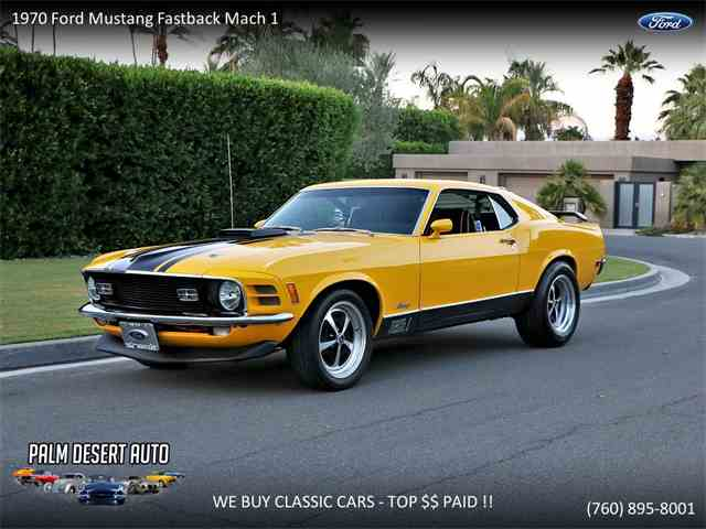 Picture of '70 Mustang Mach 1 - NRCP