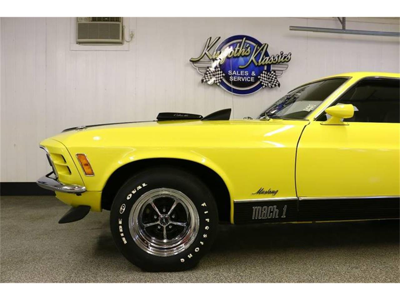 Large Picture of '70 Ford Mustang located in Wisconsin Offered by Kuyoth's Klassics - NRLD