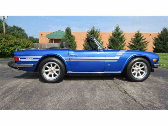 Picture of '75 TR6 - NROP