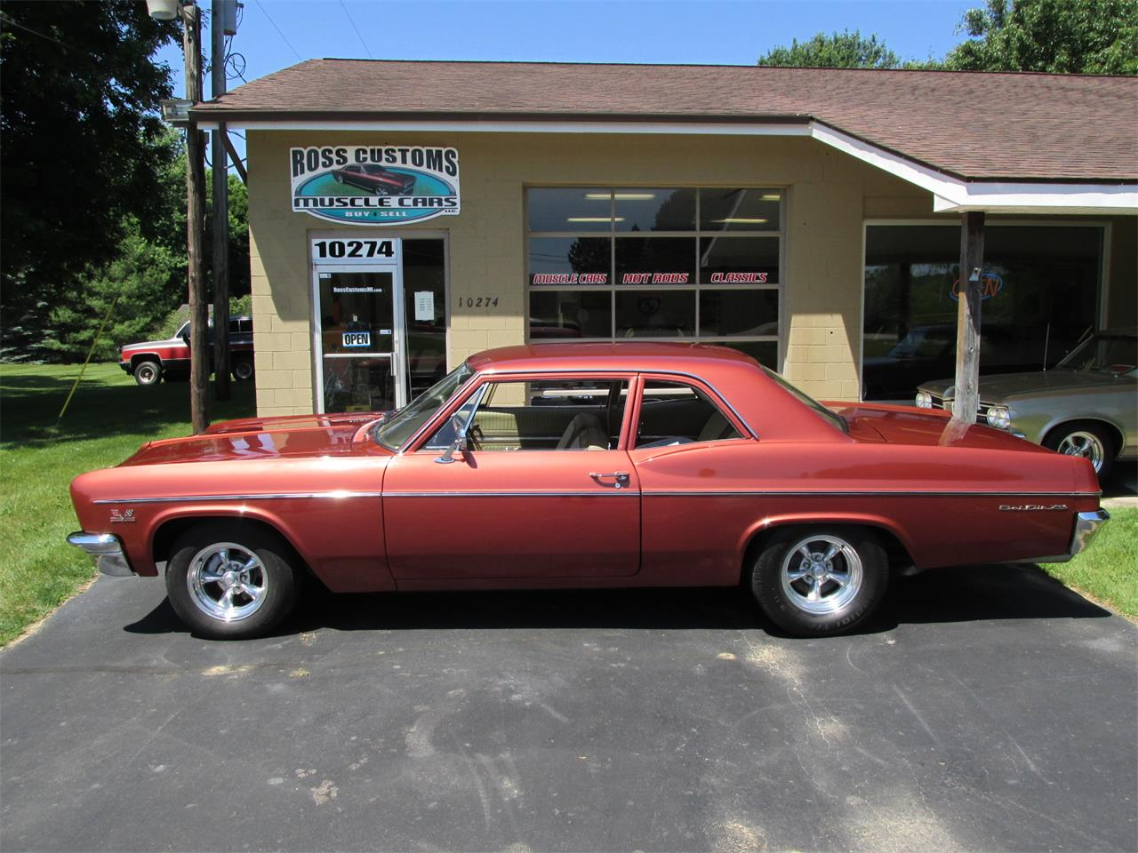 1966 Chevrolet Bel Air For Sale Cc 1108981 Chevy Large Picture Of 66 Nrp1