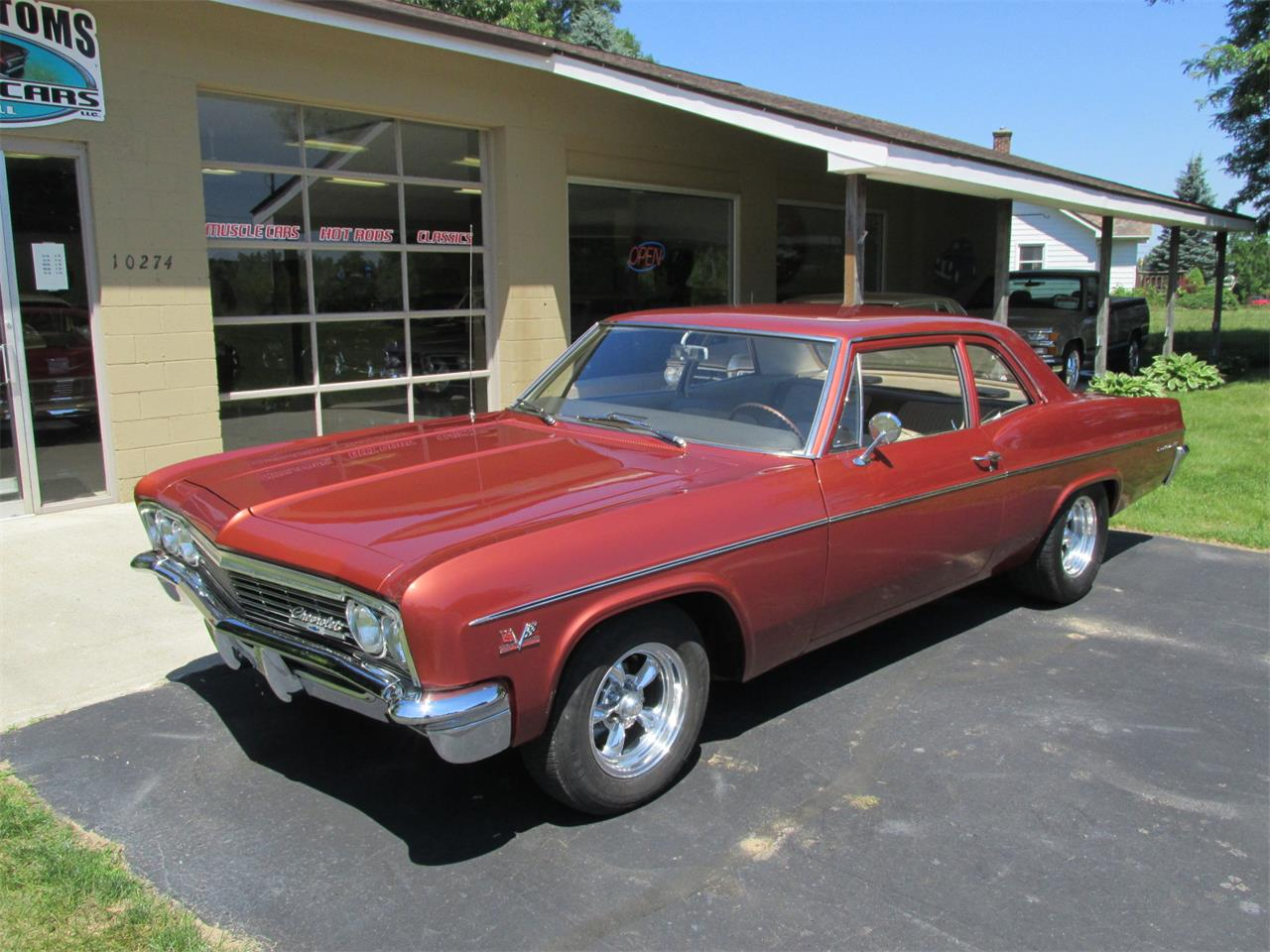 1966 Chevrolet Bel Air For Sale Cc 1108981 Rear View Large Picture Of 66 Nrp1