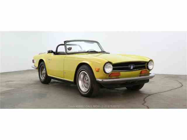 Picture of '73 TR6 - NRR5