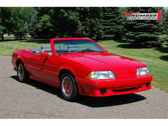 Picture of '88 Mustang - NS0P