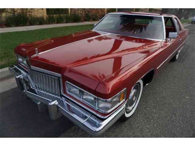 1975 Cadillac Coupe DeVille for Sale on ClicCars.com
