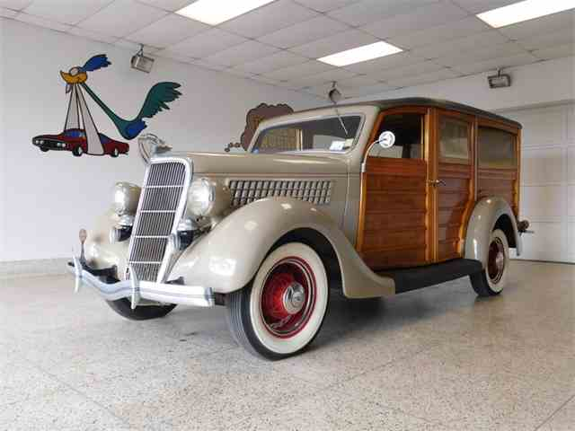 Picture of '35 Woody Wagon - NS2C