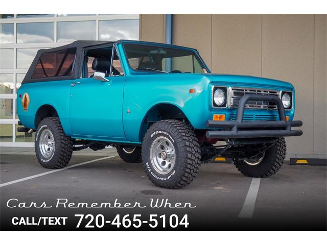 Picture of '78 International Scout located in Colorado Offered by  - NLI9