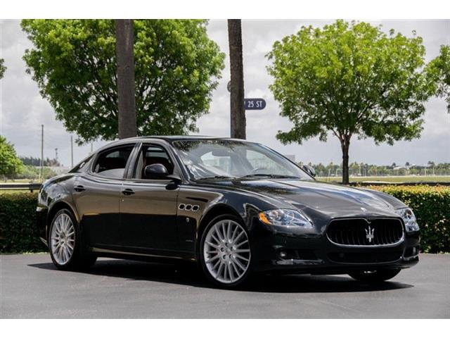 Picture of '12 Maserati Quattroporte located in Miami Florida - NTBY