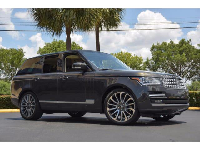 Picture of '14 Range Rover - NTCQ