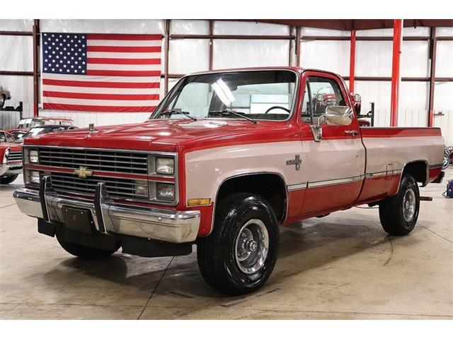 Picture of '84 Chevrolet K-10 located in Kentwood Michigan - $9,900.00 Offered by  - NTGO