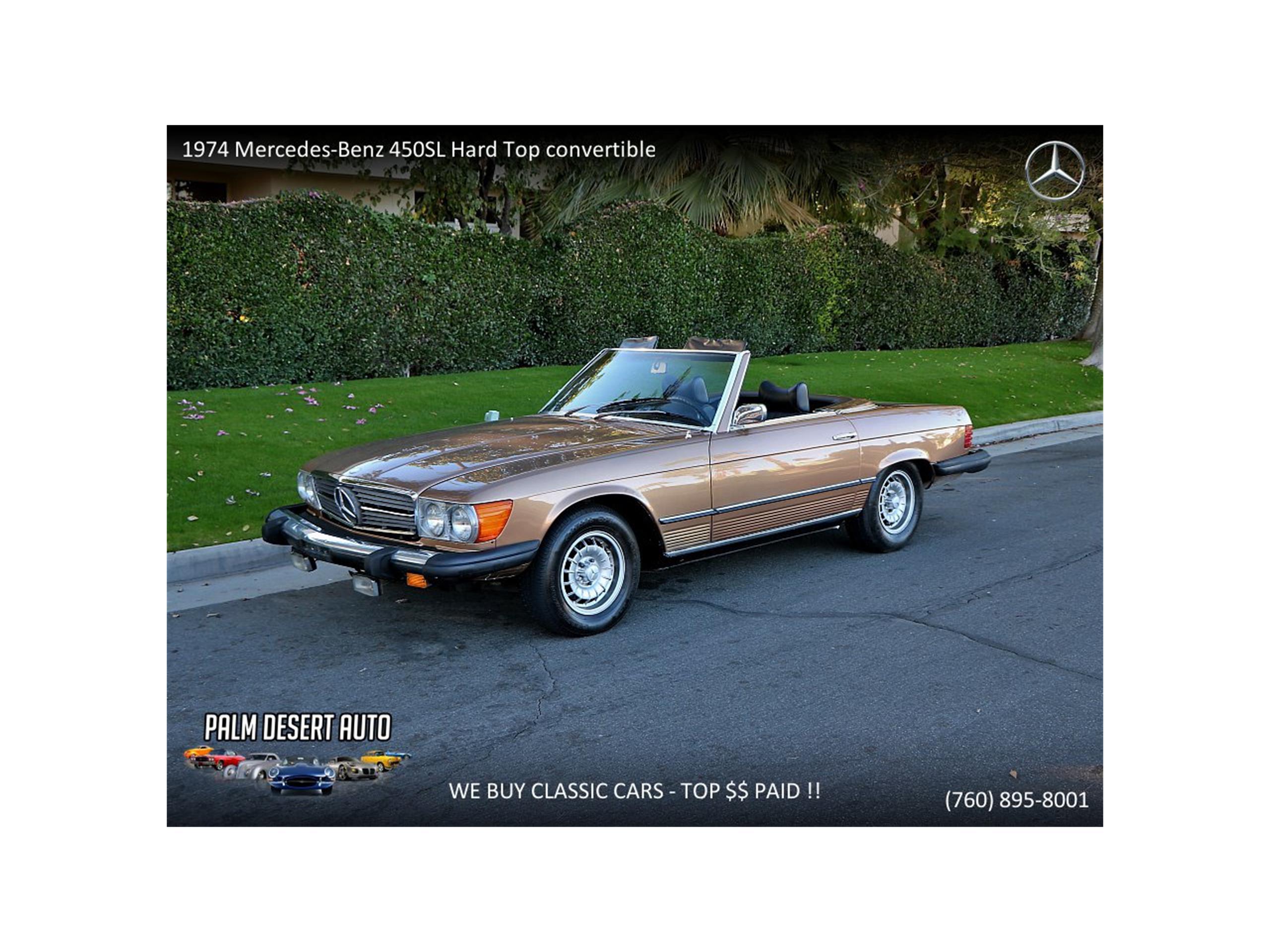 1974 mercedes benz 450sl for sale classiccars com cc 1111305 rh classiccars com 1974 450SL Performance 1970 450SL
