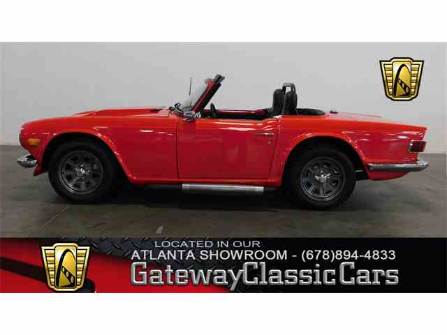 Picture of '72 TR6 - NTII