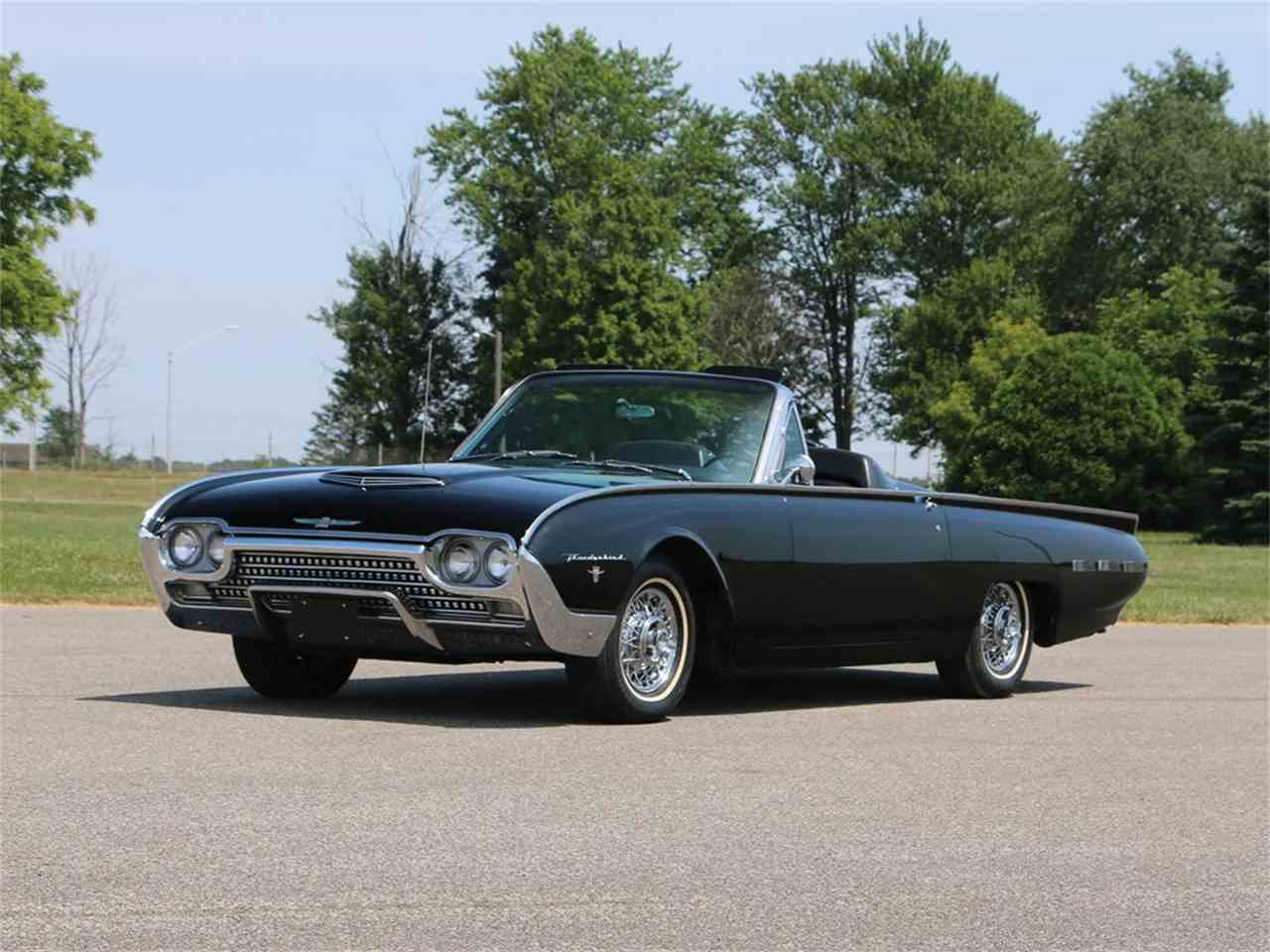 1962 Ford Thunderbird Sports Roadster for Sale | ClassicCars.com ...
