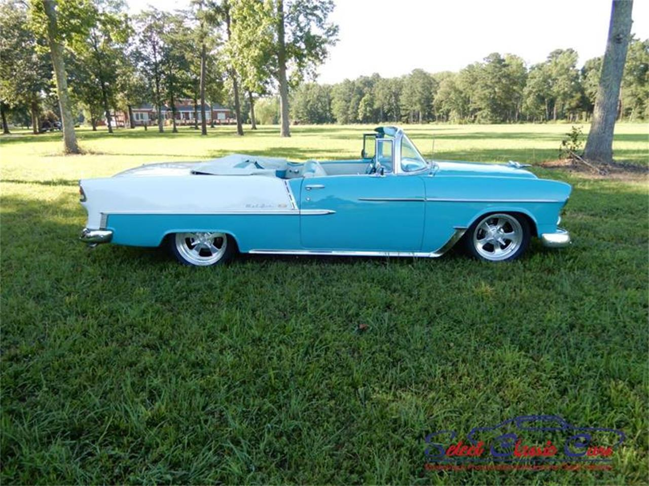 Large Picture of Classic 1955 Chevrolet Bel Air located in Georgia - $97,500.00 Offered by Select Classic Cars - NSM8
