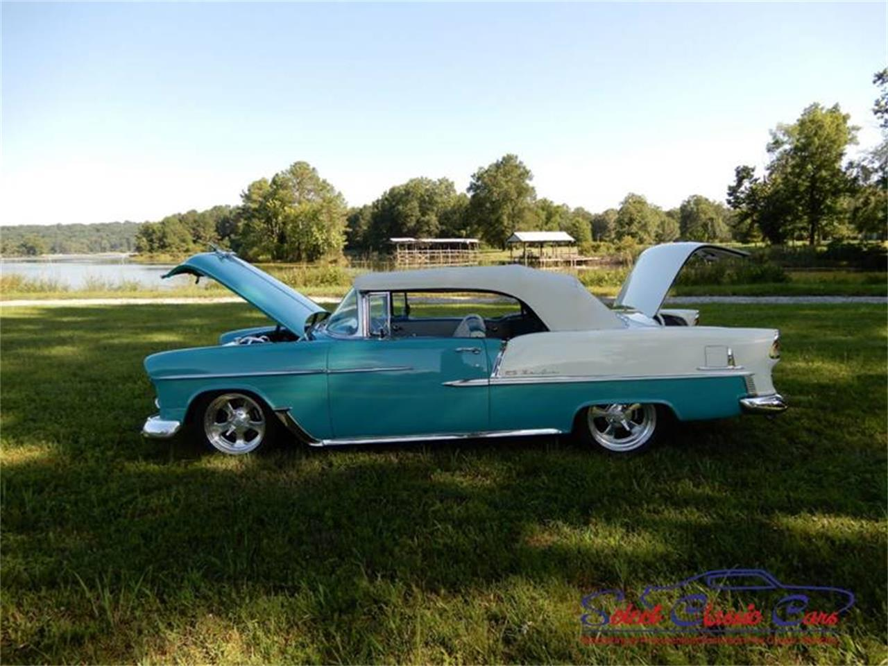 Large Picture of Classic 1955 Bel Air located in Georgia - $97,500.00 Offered by Select Classic Cars - NSM8