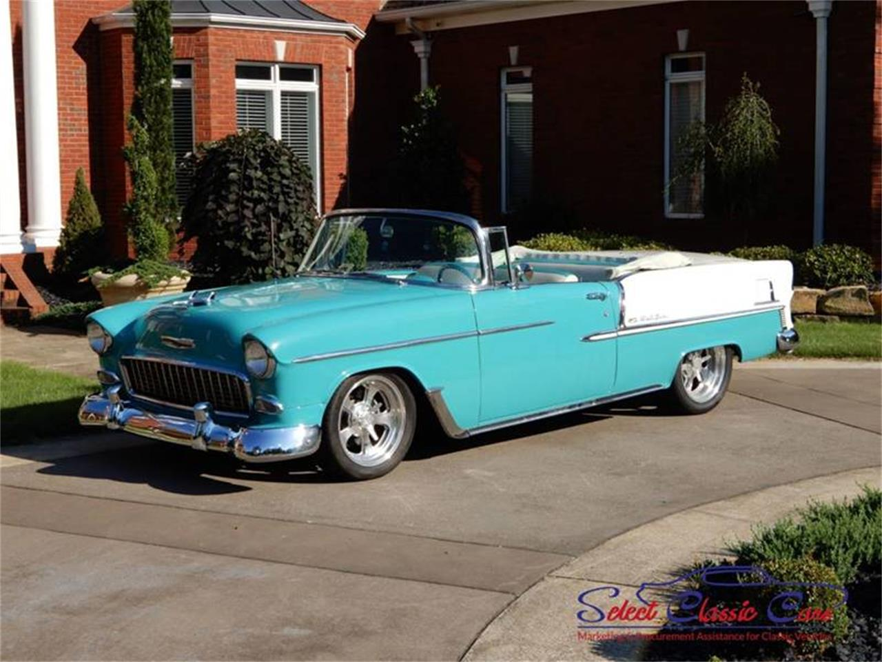 Large Picture of '55 Chevrolet Bel Air located in Georgia Offered by Select Classic Cars - NSM8