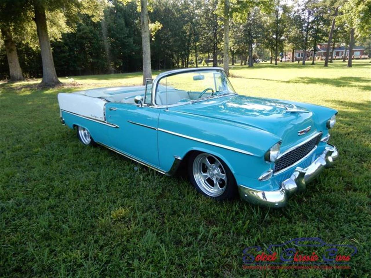 Large Picture of Classic '55 Chevrolet Bel Air located in Hiram Georgia Offered by Select Classic Cars - NSM8
