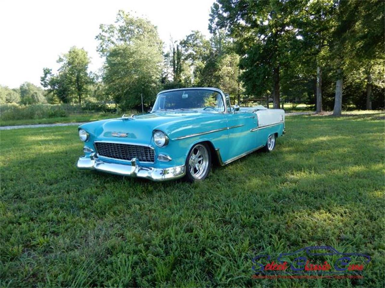 Large Picture of Classic '55 Chevrolet Bel Air located in Georgia - $97,500.00 Offered by Select Classic Cars - NSM8