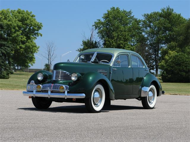 Picture of '41 Hollywood Custom Supercharged Sedan - NTVC