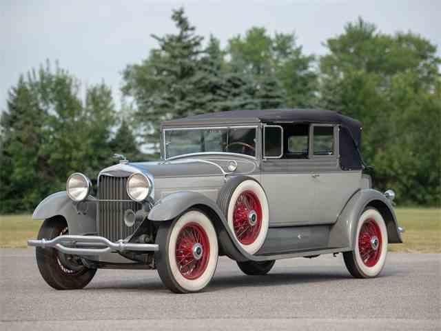 Picture of '29 Model L Convertible Victoria - NTWA