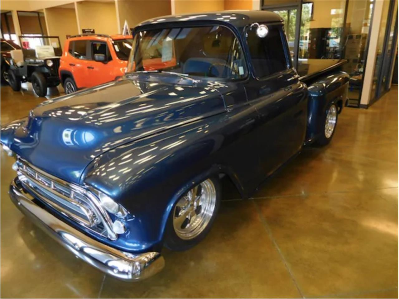 1957 Chevrolet Stepside For Sale Cc 1110201 Chevy C10 Large Picture Of 57 Nsmx