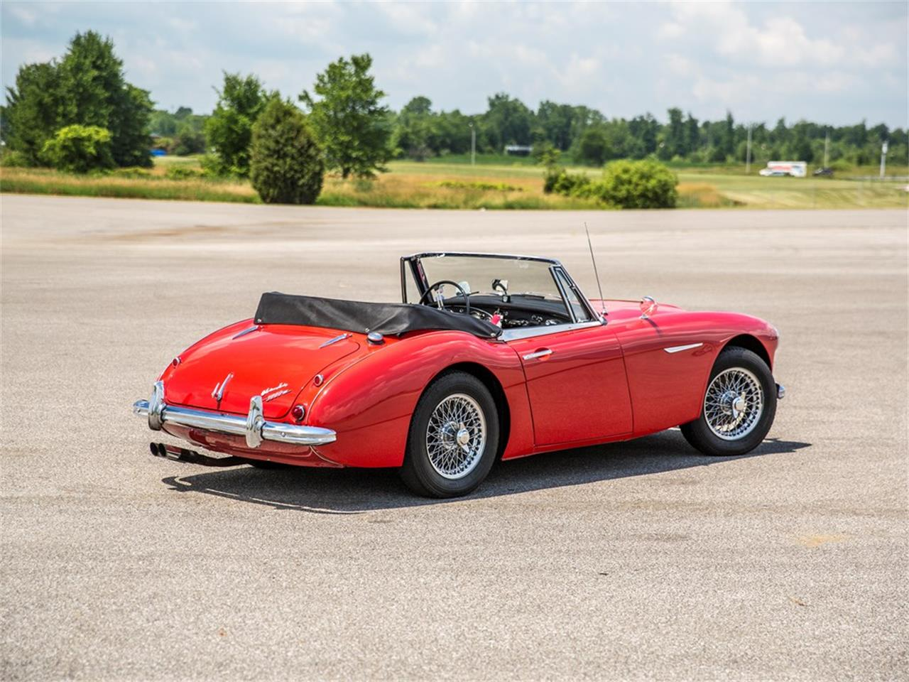 Large Picture of Classic 1963 Austin-Healey 3000 Mk II BJ7 located in Auburn Indiana Auction Vehicle Offered by RM Sotheby's - NUCB