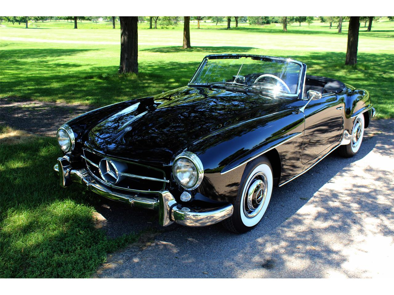 Large Picture of '60 190SL located in Minneapolis Minnesota Offered by Jaguar Land Rover Minneapolis - NULS